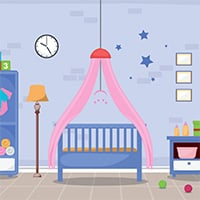 Protecting infants from mosquitoes by covering the crib with a net